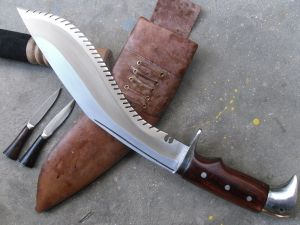 11 Inch The AARA - saw Edged Kukri
