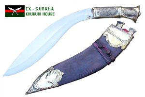 "14"" Historic Royal Brass Handle Khukuri"