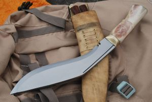 Gurkha Service No 1 Bone Handle Kukri