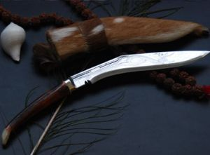 10 Inch Dhankute Special Engraved Kukri