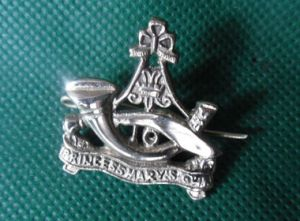 10th Princess Marys Own Gurkha Rifles Cap Badge