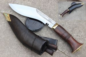 8 Inch Hand Forged Blade Mini Jungle Kukri
