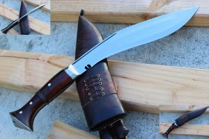 12 Inch Full Angkhola - American Bowie Size Khukuri