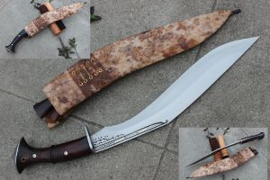 Cheetlange Light Version Hunting Khukuri