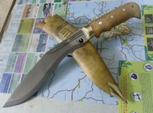 10 Inch New Looks Hunter Sirupate Kukri