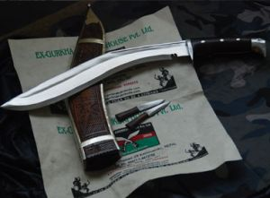 16 Chainpure Carving American Eagle Khukuri