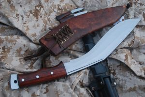 Gurkha Afghan Brown Sheath Kukri