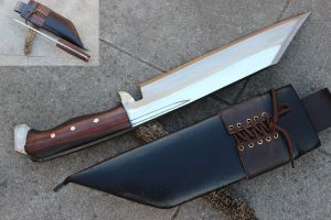 10 Inch Freedom Zombie Chopper Machete