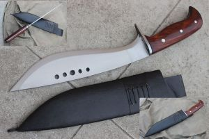 12 Inch Full Tang Hand Forged BOOK OF ELI Machete