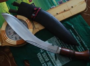 14 Inch Ganjawal Historic Rough Kukri