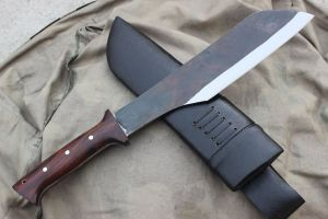 12 Inch Hand Forged Rust Free Blade Bowie Knife