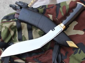 11 Inch Hand Forged Blade World War Or Dehradune Gripper Handle Kukri