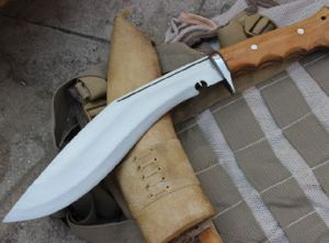 10 Inch Iraqi Operation Gripper Blocker Handle Kukri