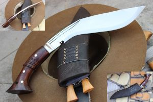 10 Inch Hand Forged Blade WW I Historic Kukri