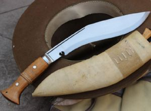 10 Inch Hand Forged Blade Full Tang Jungle Kukri
