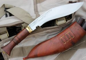8 INCH HAND FROGED BLADE MINI JUNGLE KUKRI