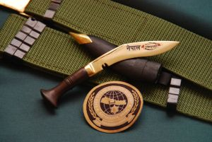 4 Inch Paper Knife Brass Engraved Blade