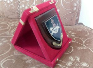 Plaque Stand Frame Box